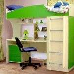 How to choose the color of a loft bed